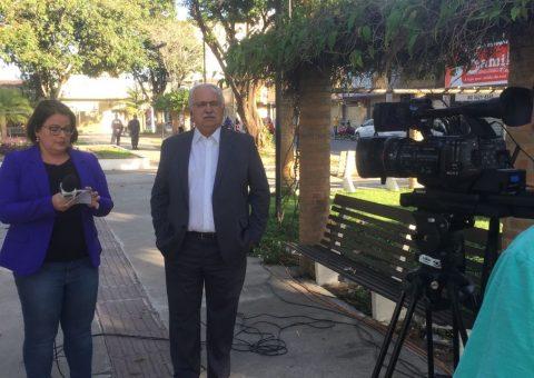 Rogério concede entrevista à TV Gazeta