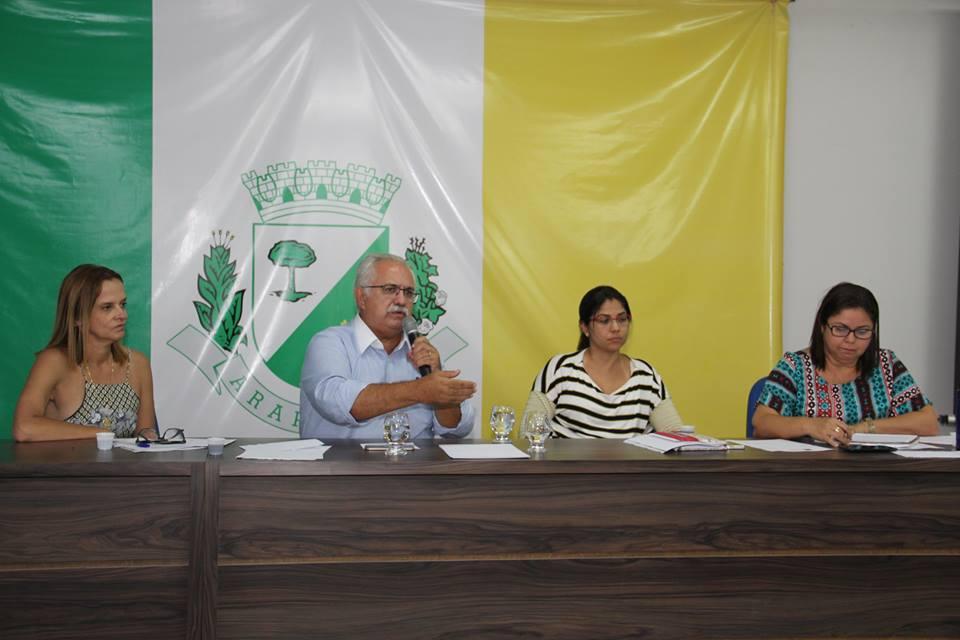 Reunião do Conselho Municipal de Saúde