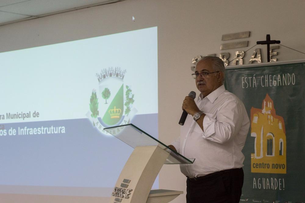 Rogério Teófilo apresenta novo projeto para o centro