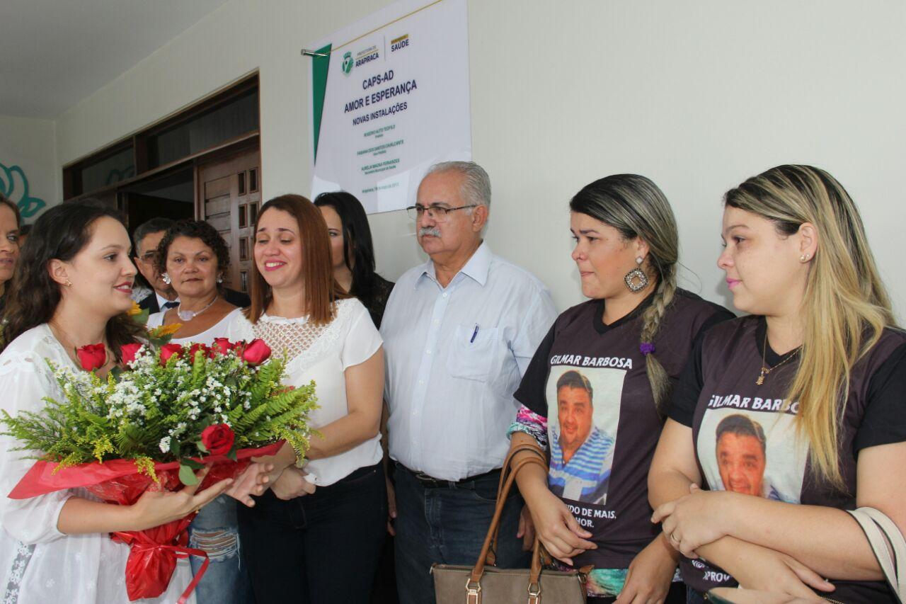 """Arapiraca inaugura novas instalações do Caps AD """"Amor e esperança ... 9a6d4a4b037"""