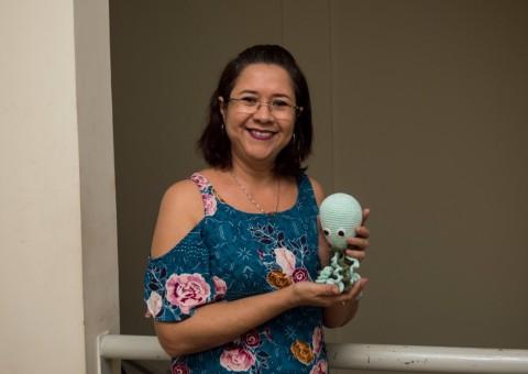 A doula Lisandra Gomes apresenta o 'Polvinho do Amor'