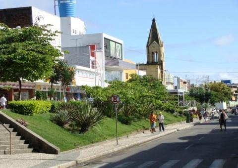 Praça Manoel André - Centro de Arapiraca (Foto: Reprodução)