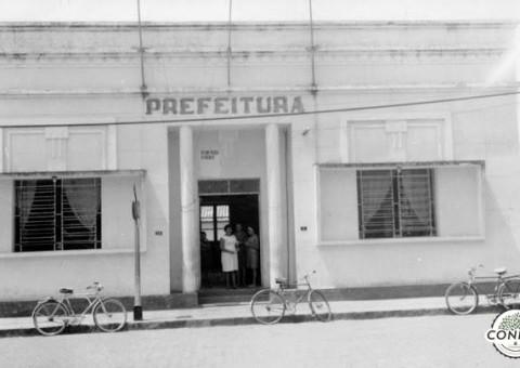 Sede da antiga Prefeitura de Arapiraca, localizada na Praça Luís Pereira Lima