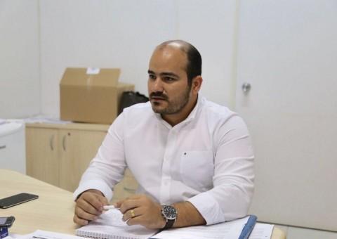 Procurador Geral do Município, Rafael Gomes Alexandre (Foto: Lucas Ferreira)