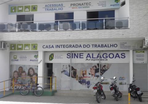 Casa do Empreendedor fica no Centro de Arapiraca e funciona das 8 às 14h.