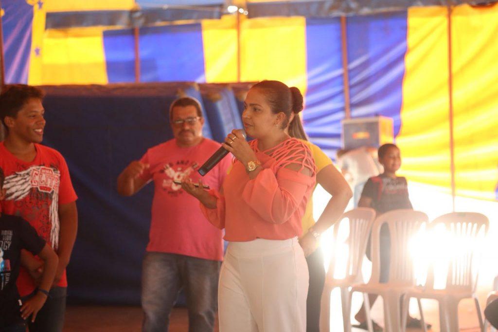 Secretária de Educação de Arapiraca, Mônica Pessoa. Foto: Lucas Ferreira
