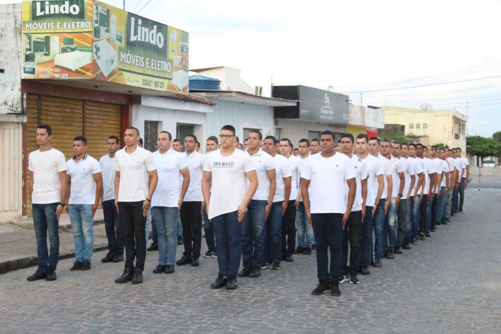 80 jovens foram selecionados para a composição da tropa do Tiro de Guerra 07/015 para o Serviço Militar de 2018