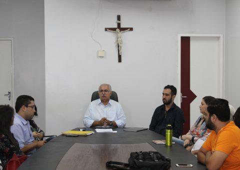 Prefeito Rogério Teófilo deu posse aos novos membros do Conselho Municipal da Criança e do Adolescente (CMDCA)