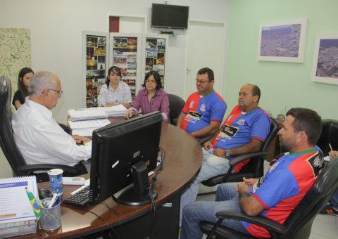 Prefeito garantiu que parte das arquibancadas do Estádio Municipal serão destinadas à comunidade do Zélia Barbosa Rocha