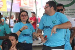 Surdo na Praça é uma iniciativa da Secretaria de Educação, através do CAS (Fotos: Genival Silva)